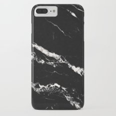 Black Marble #12 #decor #art #society6 iPhone 8 Plus Slim Case