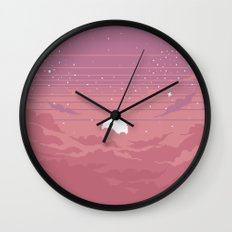 Moonburst Wall Clock