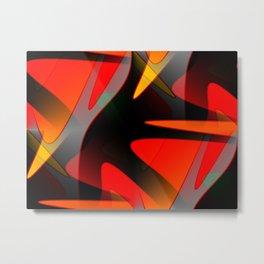 Abstract Reach Metal Print