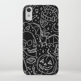 Halloween Horrors iPhone Case