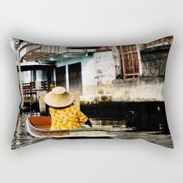 Bangkok Lifestyle Rectangular Pillow