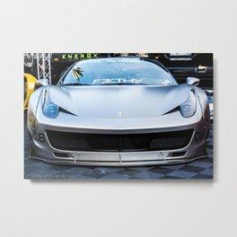 Wide Body 458 Italia Metal Print