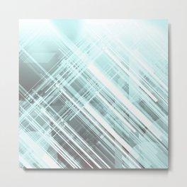 GeoHighTech Metal Print