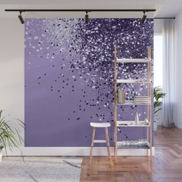 ULTRA VIOLET Glitter Dream #1 #shiny #decor #art #society6 Wall Mural