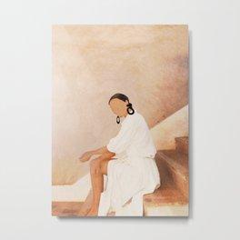 Lady in Waiting Metal Print