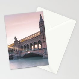 Berlin Oberbaumbridge Stationery Cards