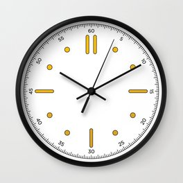 Nautilo - White Wall Clock
