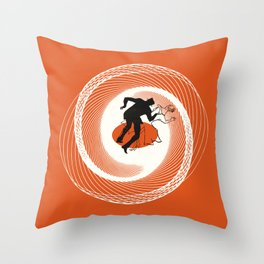Vertigo a GoGo Throw Pillow