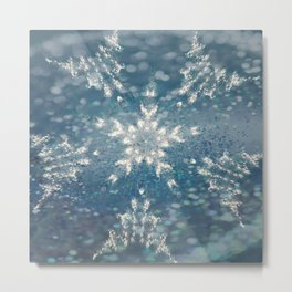 Winter Fairydust Metal Print