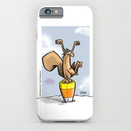 Candy Corn Crane Technique iPhone Case