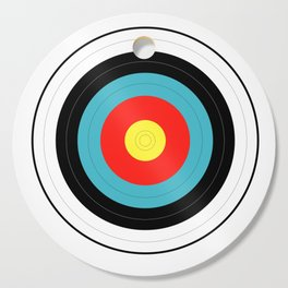Isolated Target Cutting Board