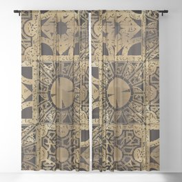 Lament Configuration Side A Sheer Curtain