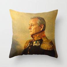 Bill Murray - replaceface Throw Pillow