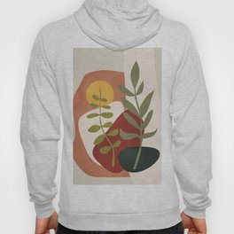 Two Abstract Branches Hoody