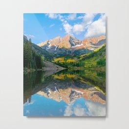 Daylight Reflection Metal Print