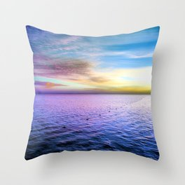 Sharm Sunrise 1 Throw Pillow