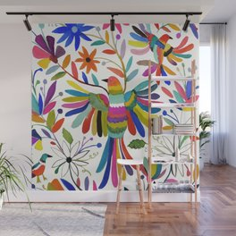 otomi bird Wall Mural