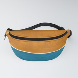 Minimalist Mid Century Modern Colorful Color Field Rothko Fanny Pack