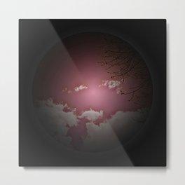 red sky - born Metal Print