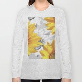 Sunflower Bouquet #decor #society6 #buyart Long Sleeve T-shirt