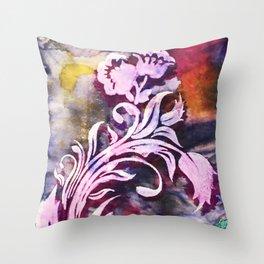 Safuli's Flower Throw Pillow