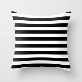 Black and White Stripped Pattern | Minimalist Throw Pillow