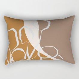 Organic Shapes & Plants Rectangular Pillow