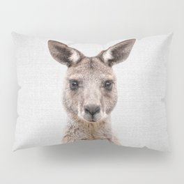 Kangaroo 2 - Colorful Pillow Sham