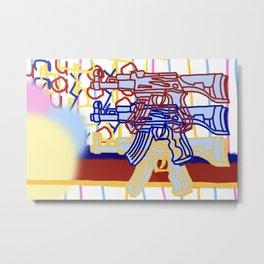 Toy gun (wilder) Metal Print