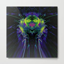 Lord of the Fireflies Metal Print