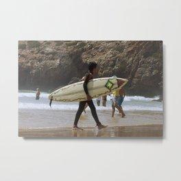 Surf  Metal Print