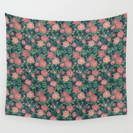 Sunrise Roses Wall Tapestry