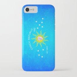 The Conch Republic Flag iPhone Case