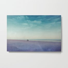 Along the Seashore Metal Print