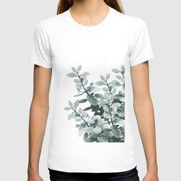 Eucalyptus Leaves Green Vibes #1 #foliage #decor #art #society6 T-shirt
