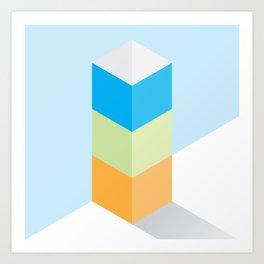 The Geometric - One Art Print