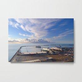 Dover Docks Metal Print