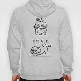 Inhale Exhale Maltese Hoody