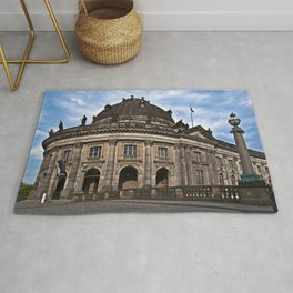 Bode Museum with cloud drama Rug
