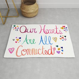 Hearts Connected Rug