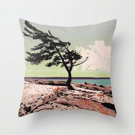 Killbear Provincial Park Throw Pillow