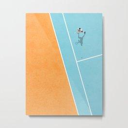 Tennis Court Colors  Metal Print