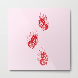 Give Me Butterflies Metal Print