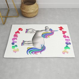 Fat Unicorn - Magical Cankles Rug