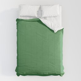Solid Light Forest Green Color Comforters