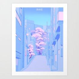 Shibuya Kunstdrucke