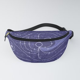 The Earth's Magnetosphere Fanny Pack