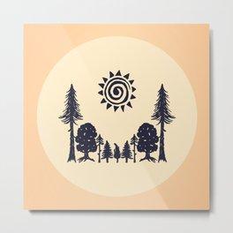 Summer Forest  Metal Print