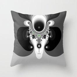 Fractal Soprano Throw Pillow