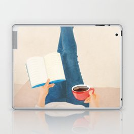 Morning Read Laptop & iPad Skin